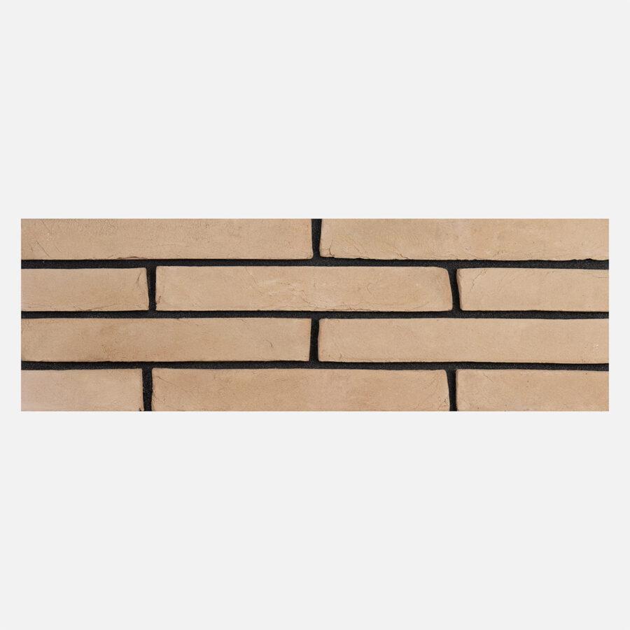 Blossom Buff Linear Bricks – Black Mortar