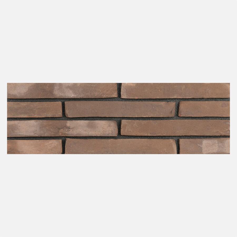 Brown Linear Bricks – Black Mortar