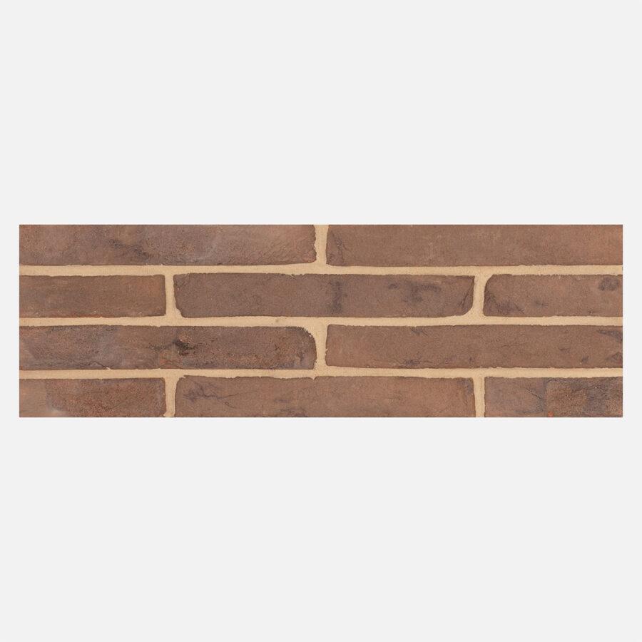 Brown Linear Bricks – Neutral Mortar