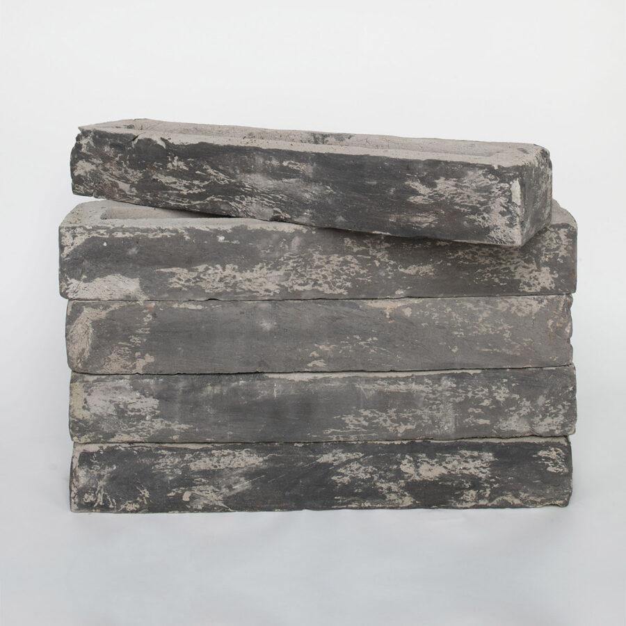 Islington Grey Linear Brick Stack