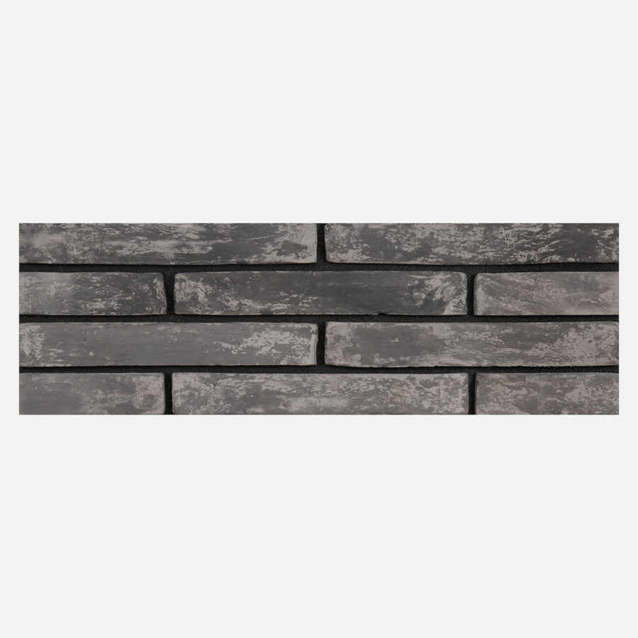 Islington Grey Linear Bricks – Black Mortar