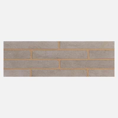 Luna Grey Linear Bricks – Neutral Mortar