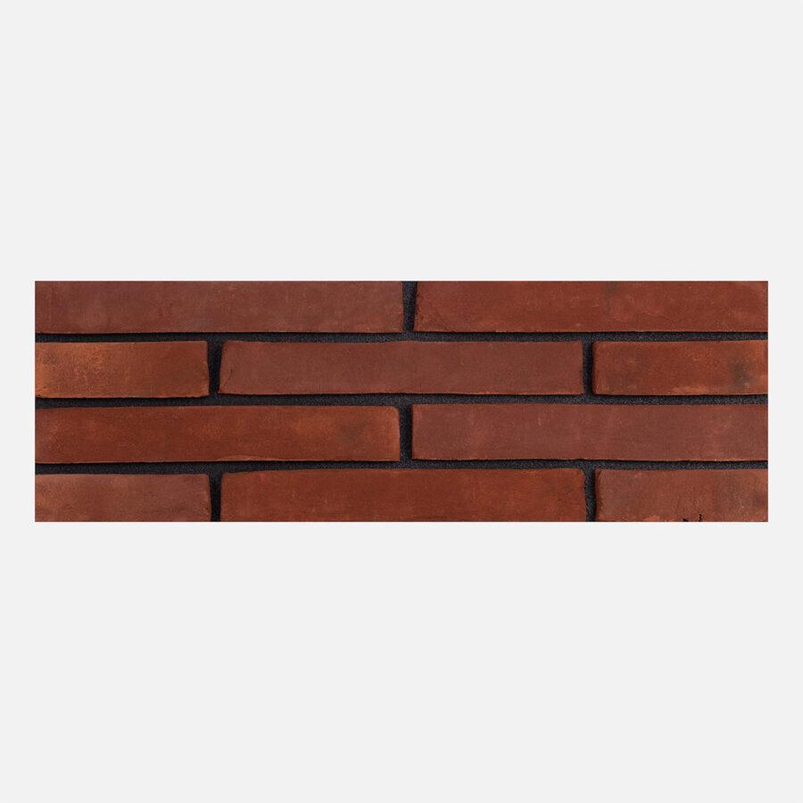 Red Hill Linear Bricks – Black Mortar
