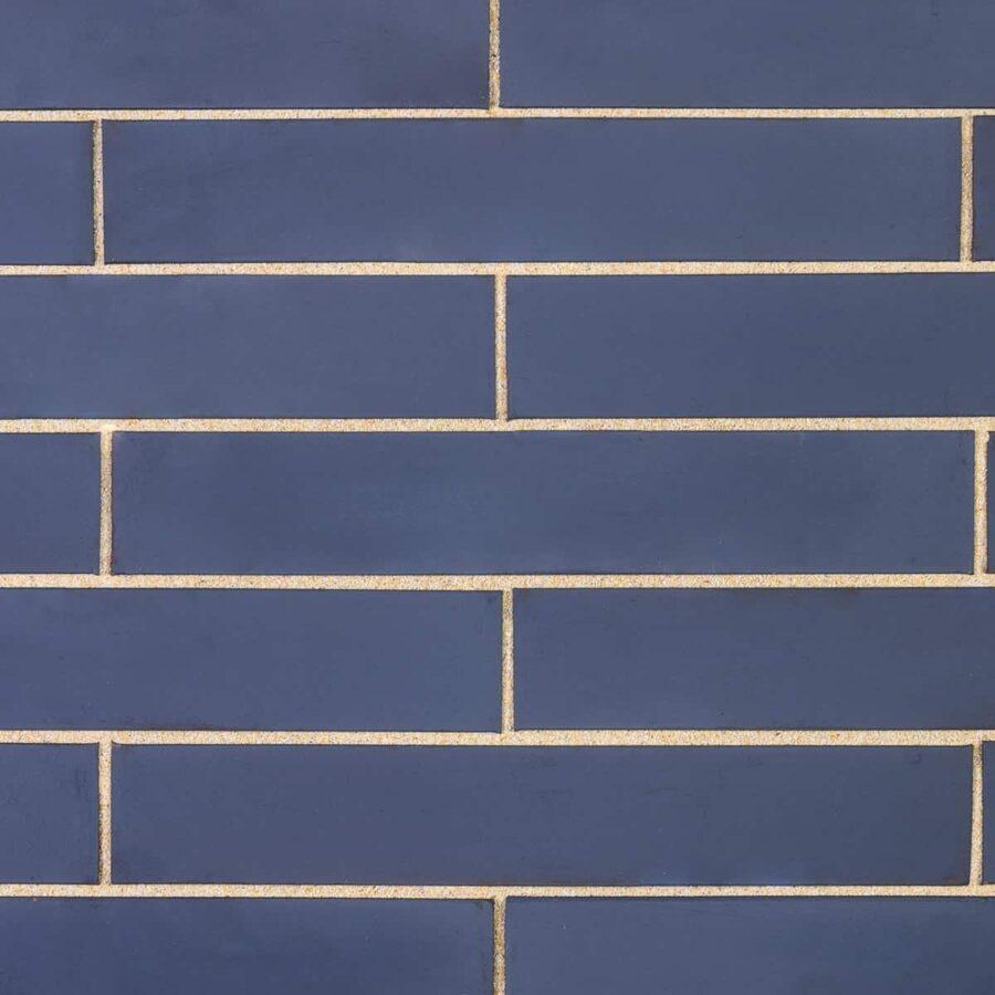 linear metallic blue