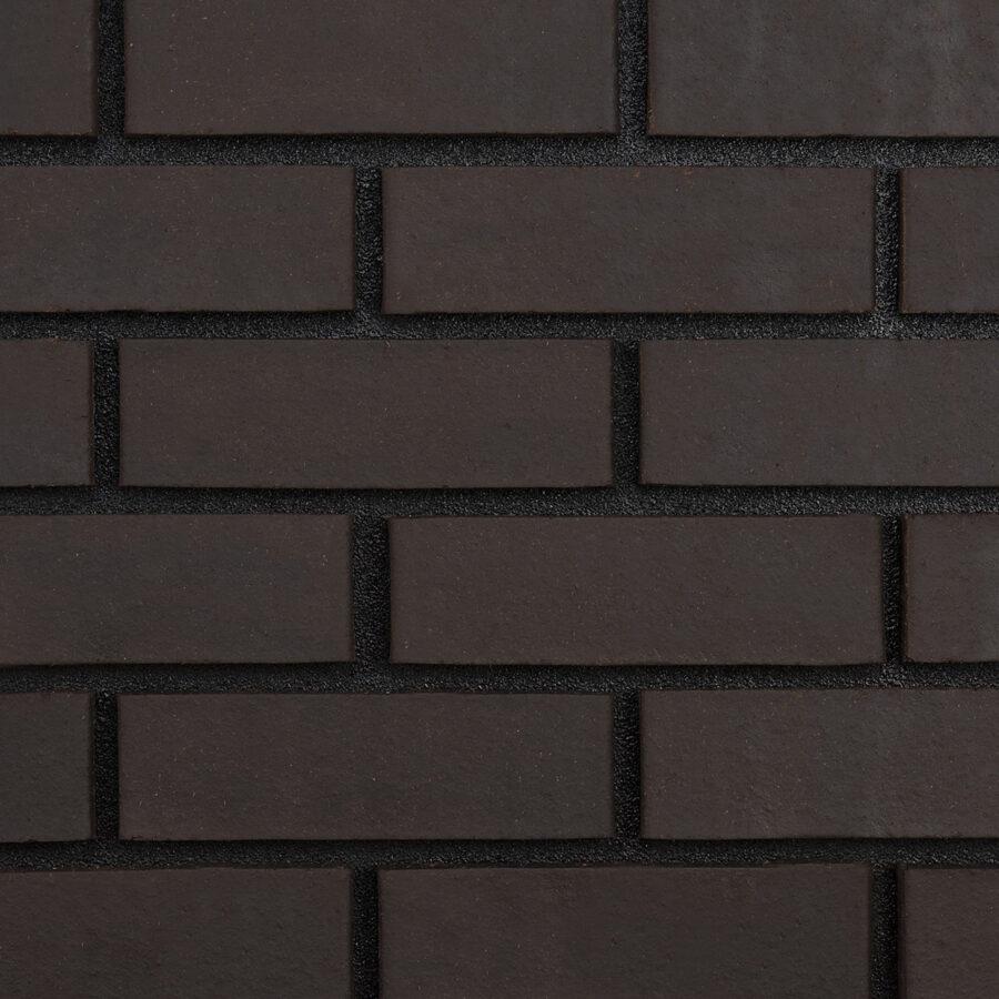 Black Smooth Bricks Black Mortar