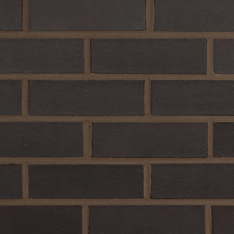 Black Smooth Bricks – Grey Mortar