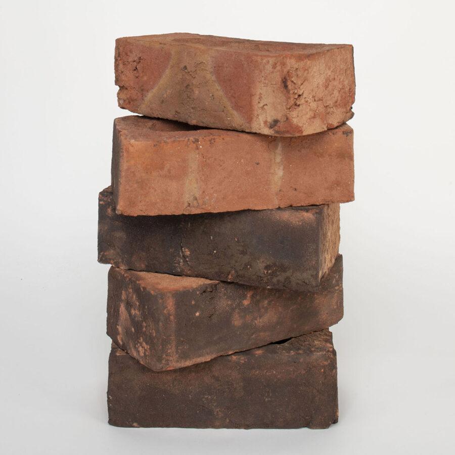 Handmade Weathered Blend Brick Stack
