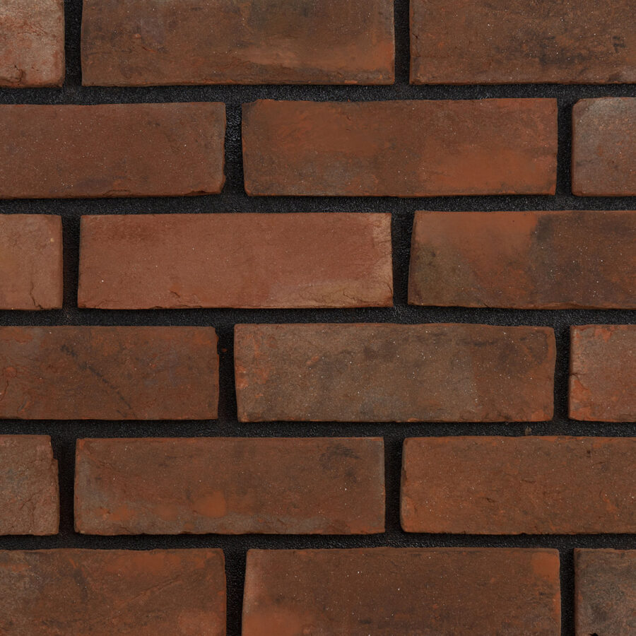 Handmade Weathered Bricks – Black Mortar