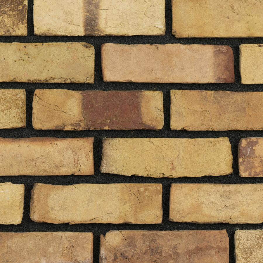 London Reclaimed Bricks – Black Mortar