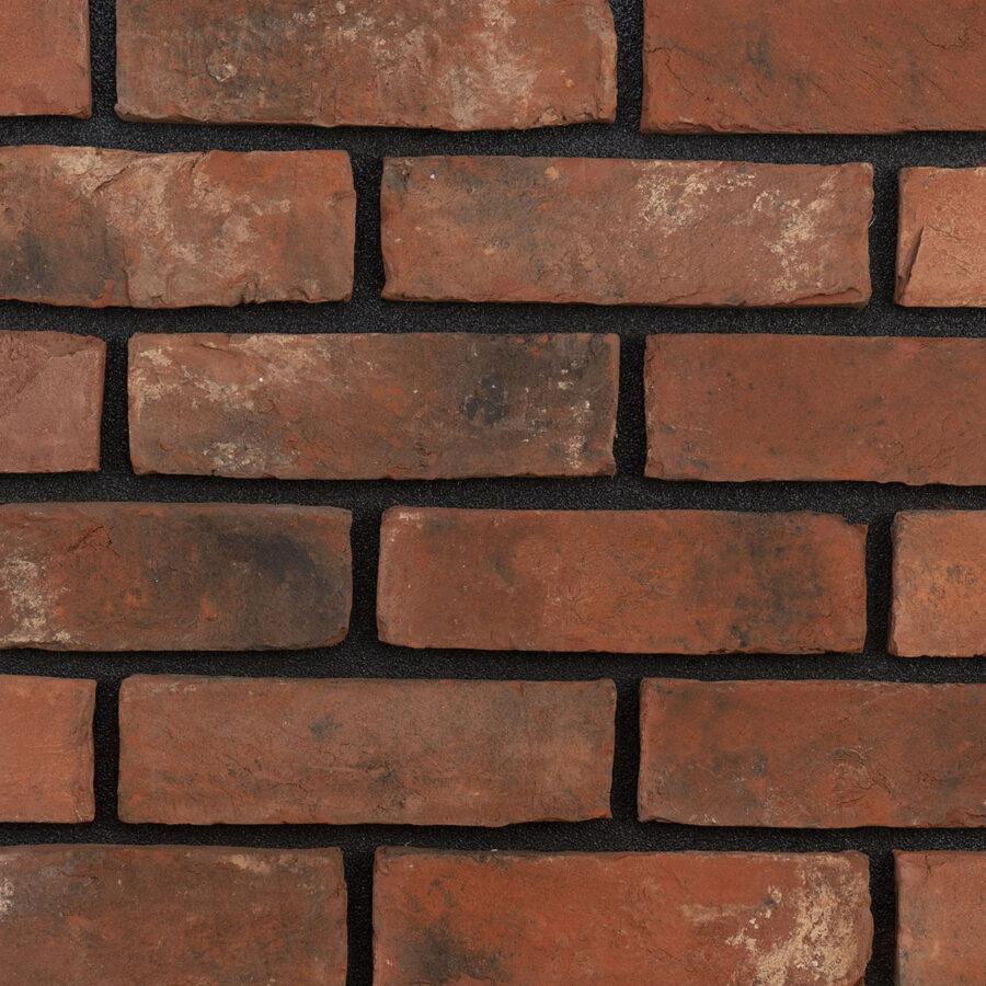 Olde Mill Blend Bricks – Black Mortar