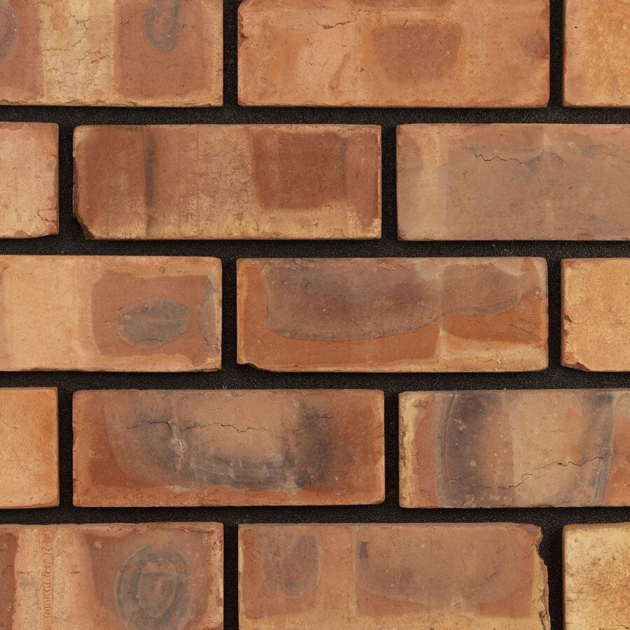 Outside Blend Bricks – Black Mortar