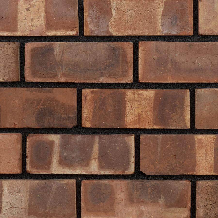 Pressed Pre War Weathered Bricks – Black Mortar