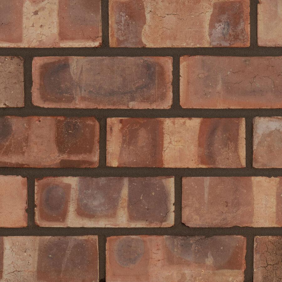 Pressed Pre War Weathered Bricks – Grey Mortar
