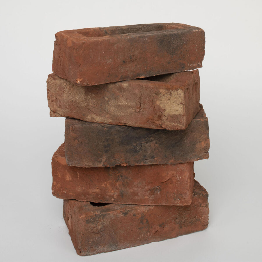 Smoked Red Brick Stack