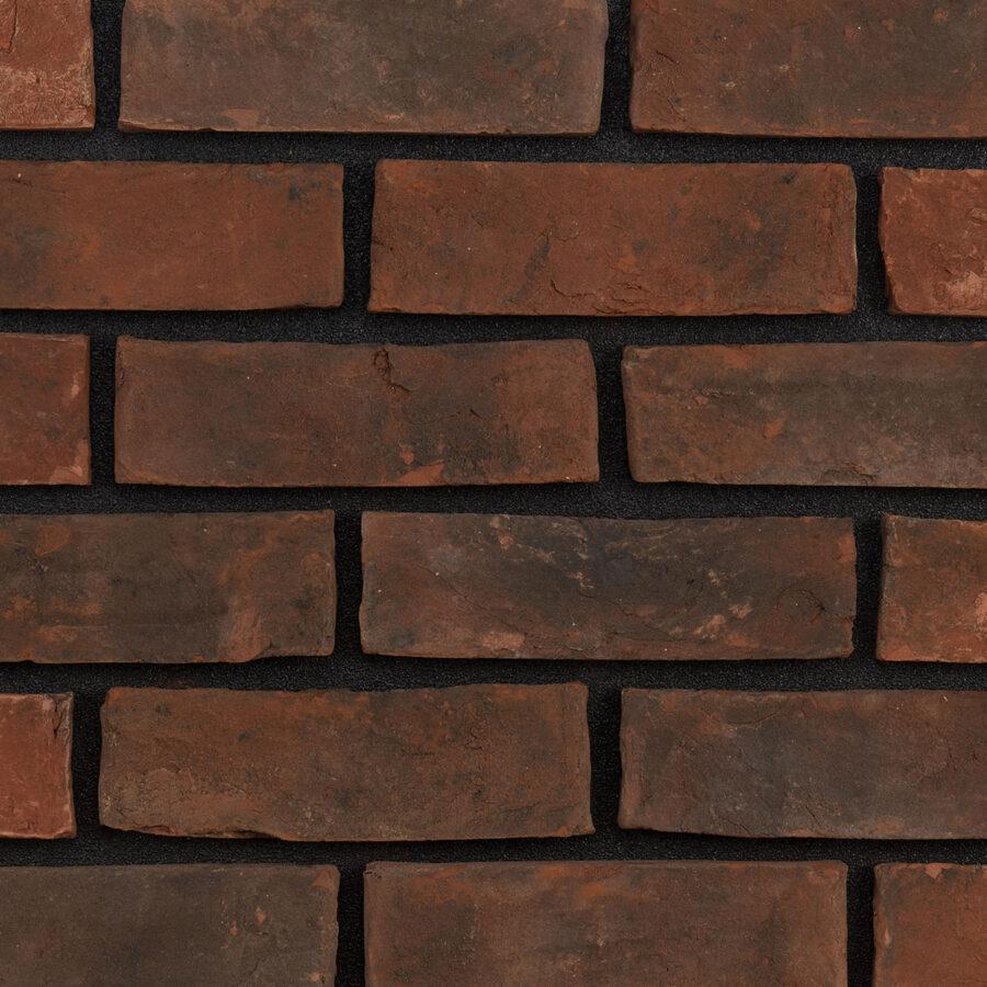 Smoked Red Bricks – Black Mortar
