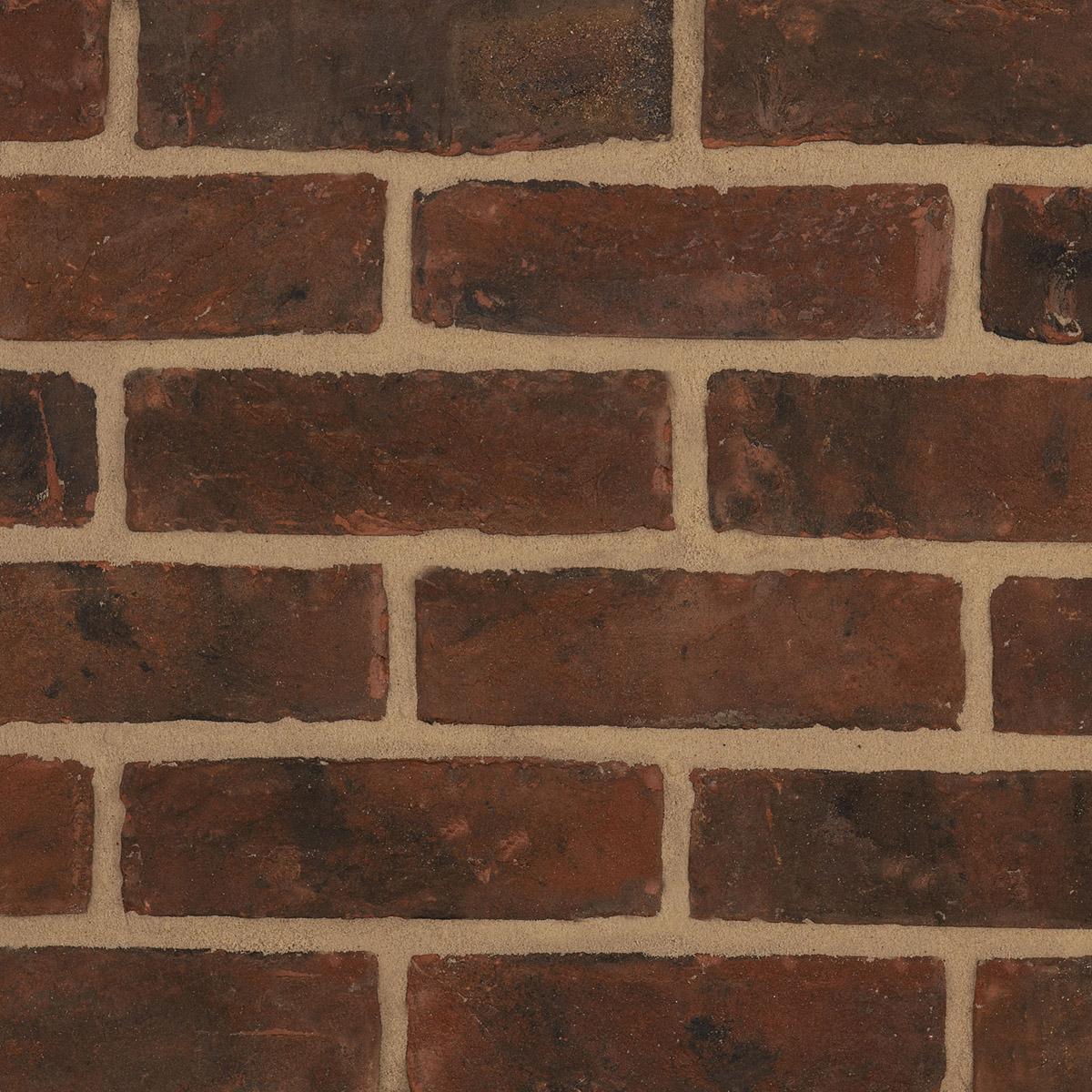 Smoked Red Bricks – Neutral Mortar