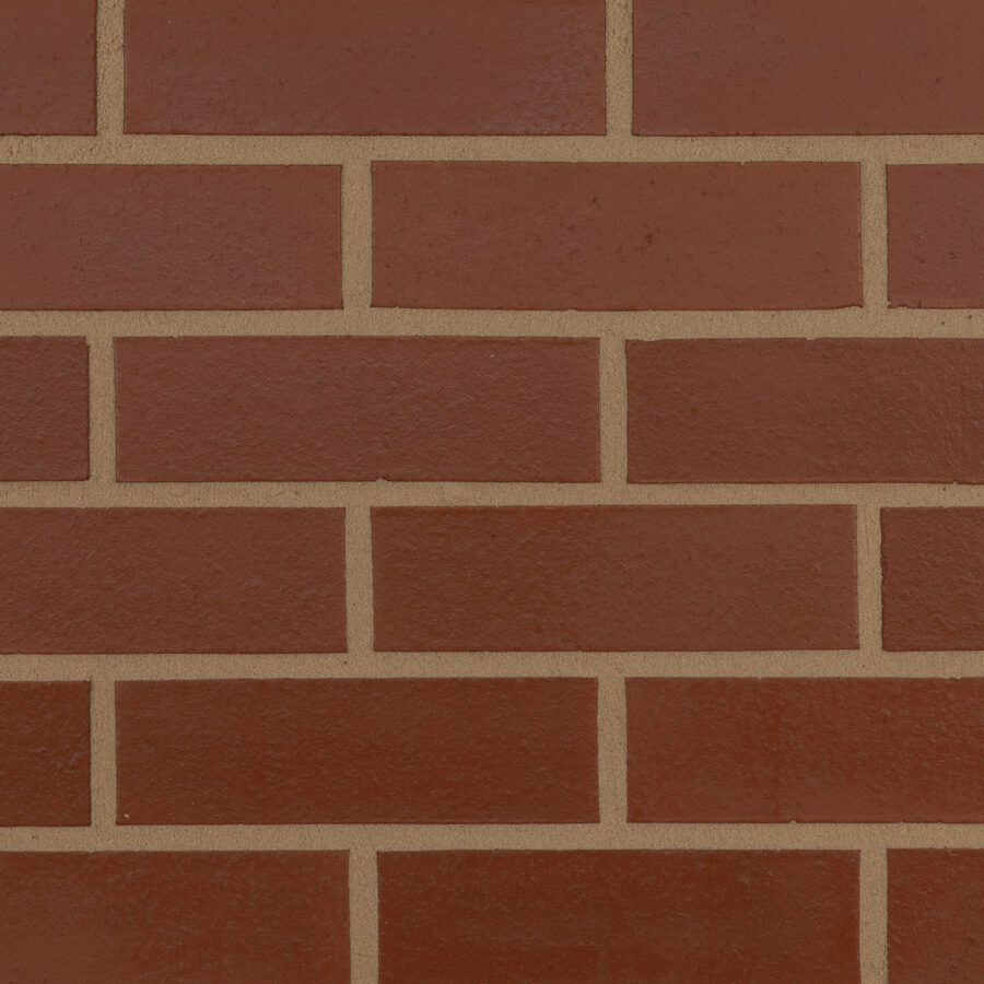 Smooth Red Bricks – Neutral Mortar