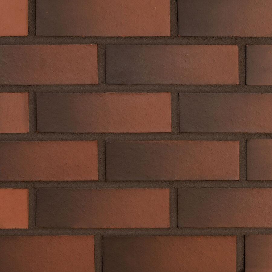 Smooth Red Weathered Bricks – Grey Mortar