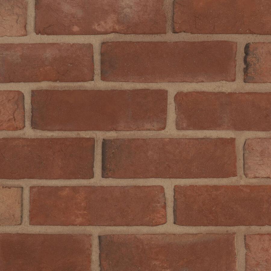 Soft Red Handmade Bricks – Neutral Mortar
