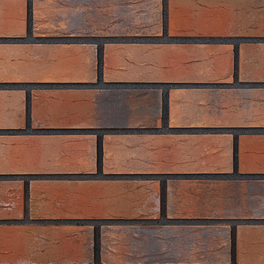Autumn Rustic Bricks – Black Mortar
