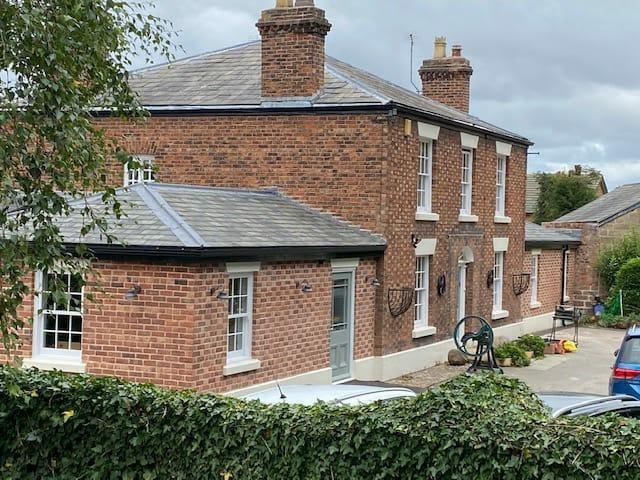 Common traditional look brick building