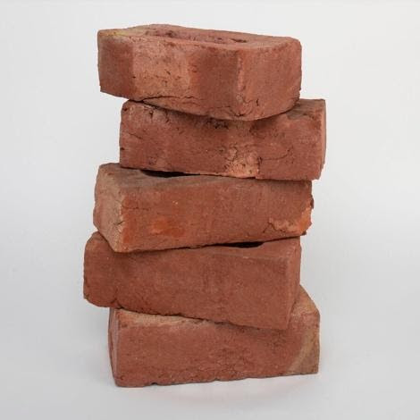 Red bricks are another example of handmade bricks for sale from Manchester Brick