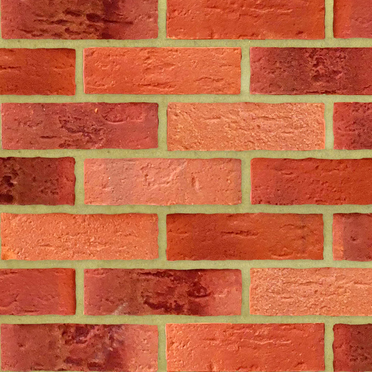 Rosley Red Multi Bricks - Neutral