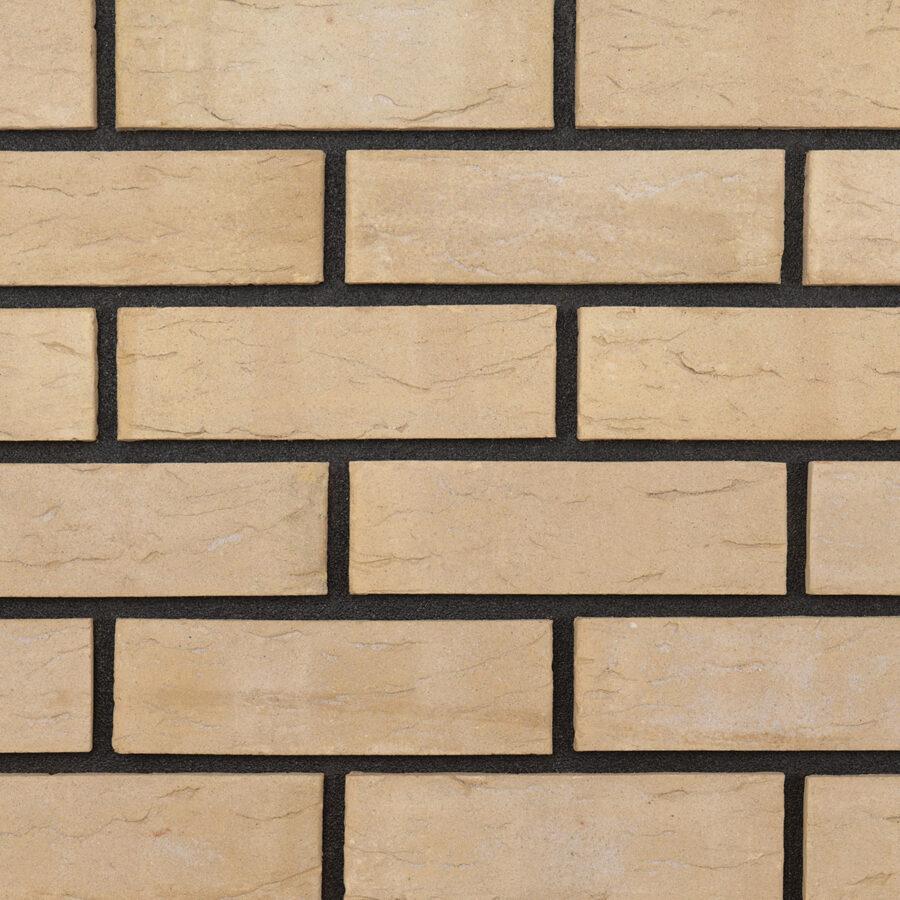 Spring Buff Bricks – Black Mortar