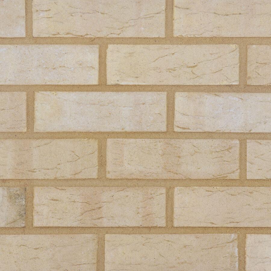 Spring Buff Bricks – Neutral Mortar